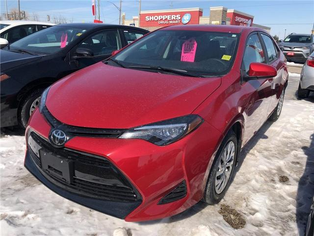 2019 Toyota Corolla LE (Stk: 9CR365) in Georgetown - Image 1 of 5