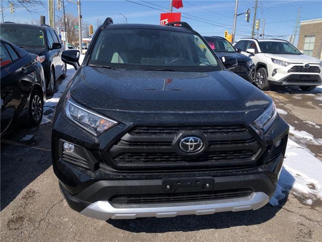 2019 Toyota RAV4 Trail (Stk: 9RV414) in Georgetown - Image 2 of 5