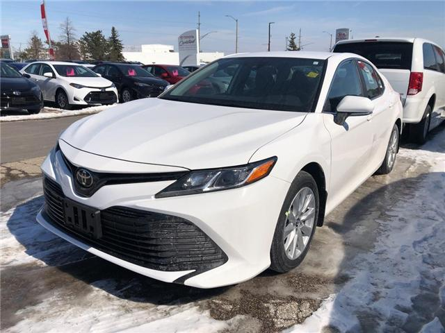 2019 Toyota Camry LE (Stk: 9CM449) in Georgetown - Image 1 of 5