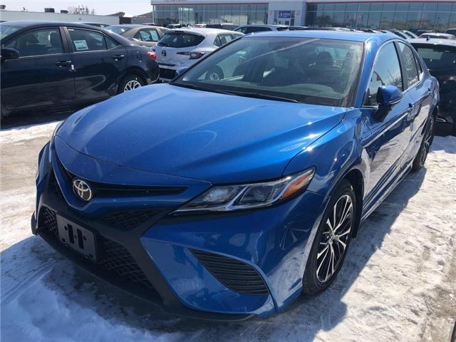 2019 Toyota Camry SE (Stk: 9CM453) in Georgetown - Image 1 of 5