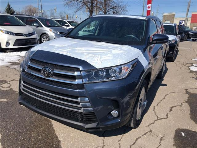 2019 Toyota Highlander XLE (Stk: 9HG476) in Georgetown - Image 1 of 5
