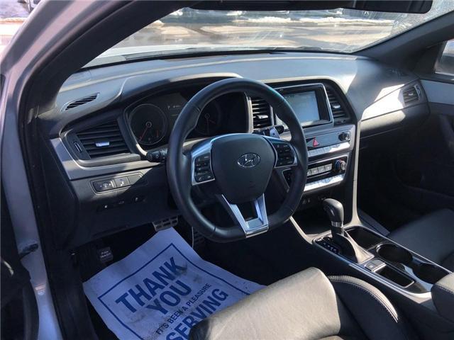 2018 Hyundai Sonata GLS|BACKUP CAM|LEATHER|SUNROOF| (Stk: PA17904) in BRAMPTON - Image 9 of 18