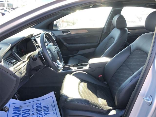 2018 Hyundai Sonata GLS|BACKUP CAM|LEATHER|SUNROOF| (Stk: PA17904) in BRAMPTON - Image 10 of 18