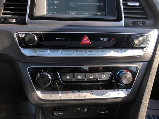 2018 Hyundai Sonata GLS|BACKUP CAM|LEATHER|SUNROOF| (Stk: PA17904) in BRAMPTON - Image 16 of 18