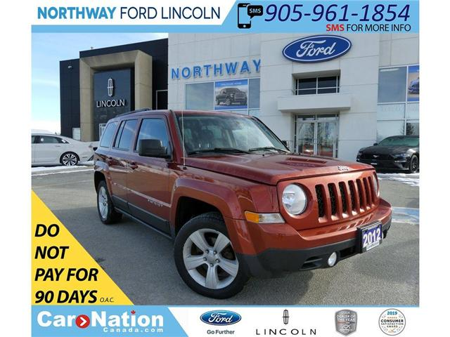 2012 Jeep Patriot Sport | KEYLESS ENTRY | HTD SEATS | REMOTE START | (Stk: EC89362A) in Brantford - Image 1 of 30