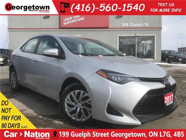 2017 Toyota Corolla LE | B/U CAM | HTD SEATS | USB/AUX IN | BLUETOOTH (Stk: DR508) in Georgetown - Image 1 of 24