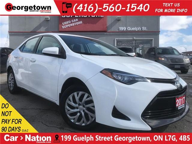 2017 Toyota Corolla LE | B/U CAM | HTD SEATS | USB/AUX IN | BLUETOOTH (Stk: DR510) in Georgetown - Image 1 of 24