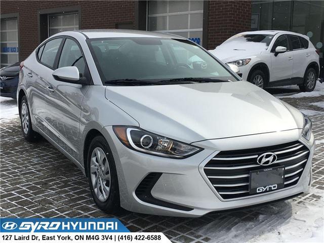 2018 Hyundai Elantra LE (Stk: H3544A) in Toronto - Image 1 of 28