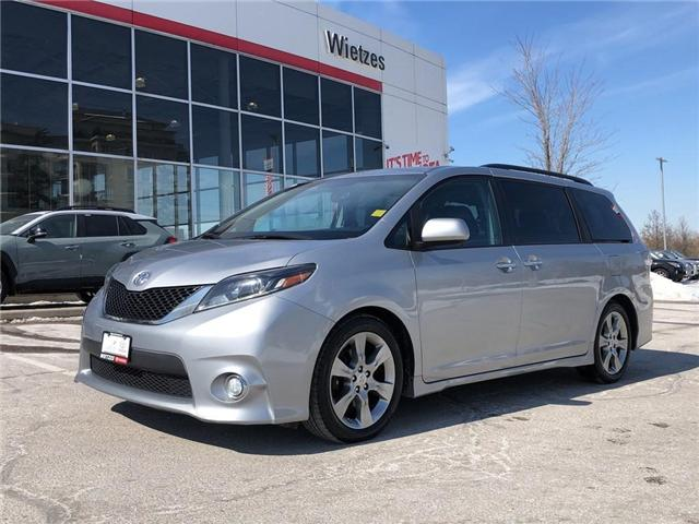 2015 Toyota Sienna SE (Stk: U2374) in Vaughan - Image 1 of 25