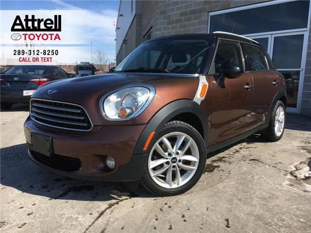 2013 MINI COOPER COUNTRYMAN FWD 4 DOOR LEATHER, FOG LAMPS, PANO SUNROOF, ALLOY (Stk: 42453A) in Brampton - Image 1 of 26