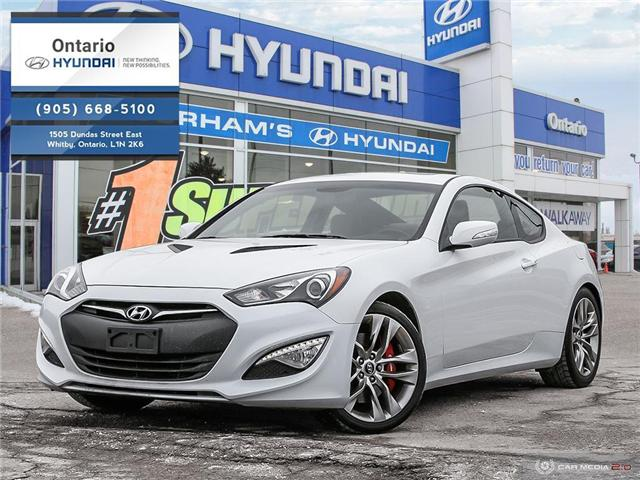 2015 Hyundai Genesis Coupe 3.8 GT / Automatic (Stk: 27145K) in Whitby - Image 1 of 27