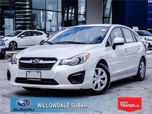 2012 Subaru Impreza 2.0i (CVT) | NO ACCIDENTS | REMOTE STARTER (Stk: 14408A) in Toronto - Image 1 of 22