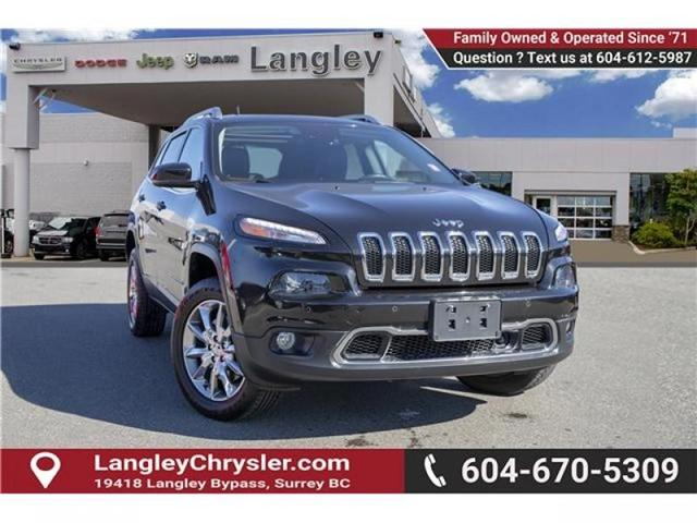 2014 Jeep Cherokee Limited (Stk: K354565A) in Surrey - Image 1 of 26
