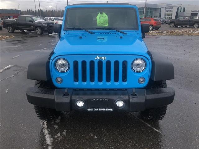 2017 Jeep Wrangler Unlimited Rubicon (Stk: 3435D) in Thunder Bay - Image 8 of 15