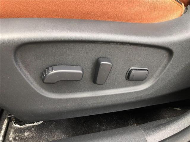 2017 Nissan Rogue SL Platinum (Stk: Y6007A) in Burlington - Image 14 of 20
