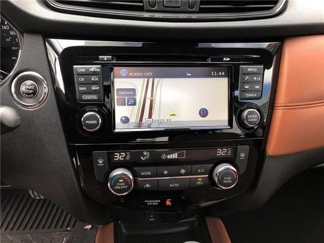 2017 Nissan Rogue SL Platinum (Stk: Y6007A) in Burlington - Image 17 of 20