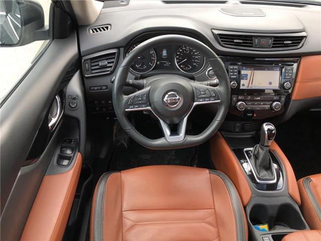 2017 Nissan Rogue SL Platinum (Stk: Y6007A) in Burlington - Image 19 of 20