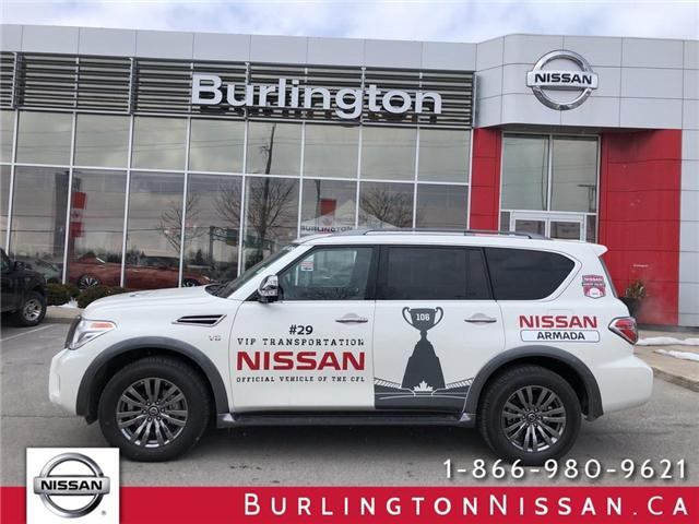 2018 Nissan Armada Platinum (Stk: A6637) in Burlington - Image 1 of 20