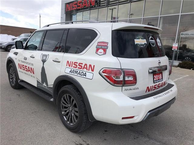 2018 Nissan Armada Platinum (Stk: A6637) in Burlington - Image 2 of 20