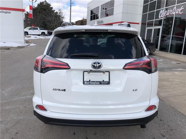 2017 Toyota RAV4 LE (Stk: U10565) in Burlington - Image 4 of 18