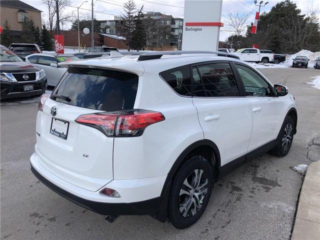 2017 Toyota RAV4 LE (Stk: U10565) in Burlington - Image 5 of 18