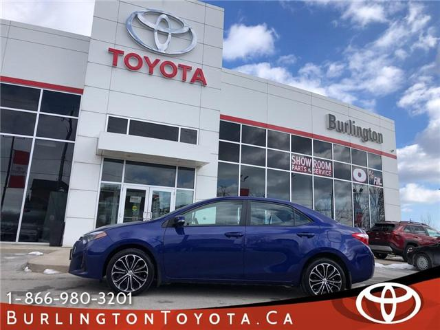2016 Toyota Corolla  (Stk: 192210A) in Burlington - Image 1 of 20