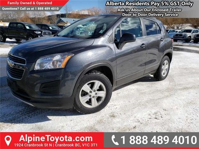 2015 Chevrolet Trax 2LT (Stk: W834694A) in Cranbrook - Image 1 of 17