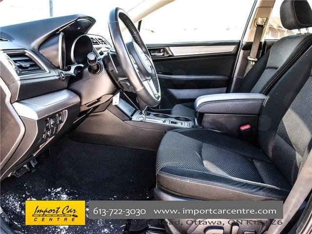 2017 Subaru Outback 3.6R Touring (Stk: 298692) in Ottawa - Image 10 of 25