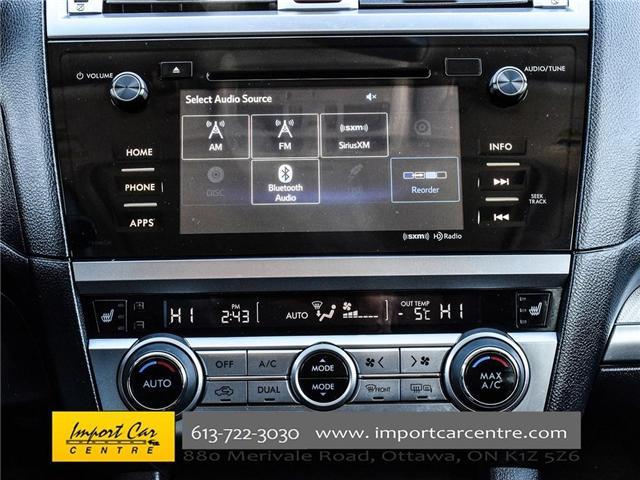 2017 Subaru Outback 3.6R Touring (Stk: 298692) in Ottawa - Image 21 of 25