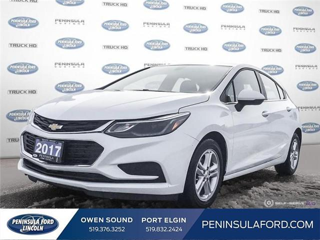 2017 Chevrolet Cruze LT Auto (Stk: 1701) in Owen Sound - Image 1 of 25