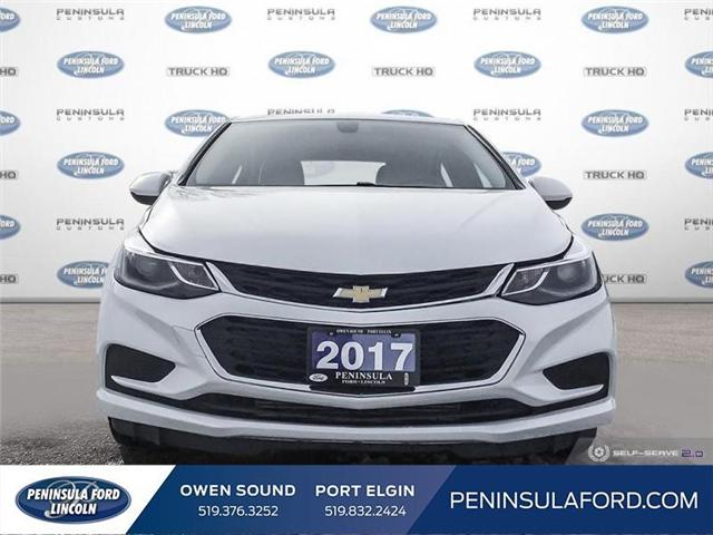 2017 Chevrolet Cruze LT Auto (Stk: 1701) in Owen Sound - Image 2 of 25