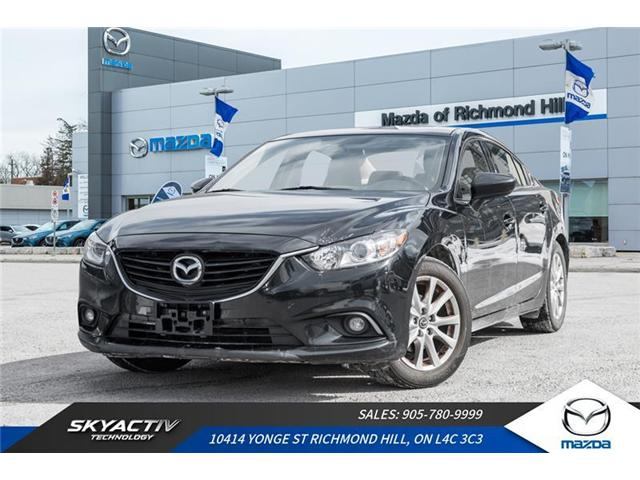 2015 Mazda MAZDA6 GS (Stk: 19-226A) in Richmond Hill - Image 1 of 20