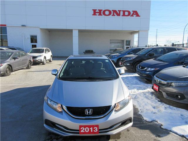 2013 Honda Civic EX (Stk: SS3374) in Ottawa - Image 2 of 10