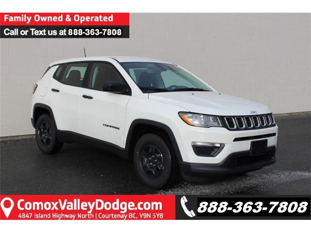 2019 Jeep Compass Sport (Stk: T652635) in Courtenay - Image 1 of 30