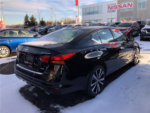 2019 Nissan Altima 2.5 Platinum (Stk: 19088) in Barrie - Image 4 of 5