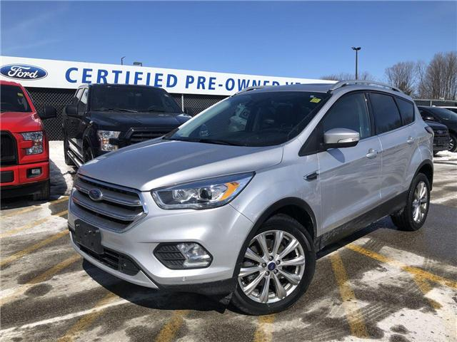 2017 Ford Escape Titanium (Stk: ES181670A) in Barrie - Image 1 of 26