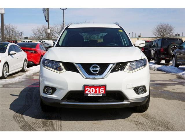 2016 Nissan Rogue SV| REAR CAM| BLUETOOTH| HEATED SEATS & MORE (Stk: J618A) in Burlington - Image 2 of 30