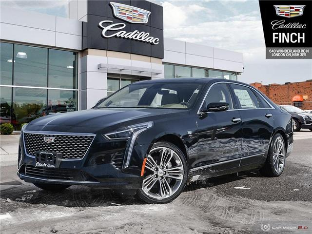 2019 Cadillac CT6 3.0L Twin Turbo Platinum (Stk: 144876) in London - Image 1 of 27
