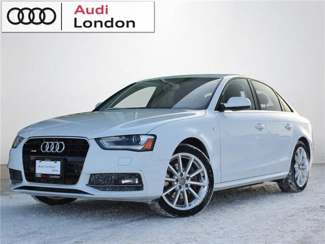 2015 Audi A4 2.0T Progressiv (Stk: 401347A) in London - Image 1 of 27