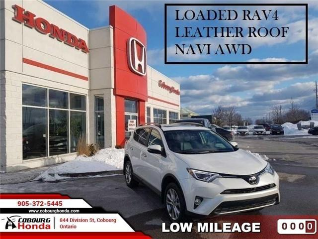 2018 Toyota RAV4 Limited (Stk: STK697452) in Cobourg - Image 1 of 22