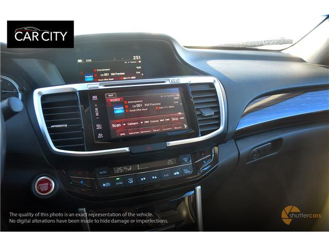2016 Honda Accord Touring V6 (Stk: 2581) in Ottawa - Image 12 of 20