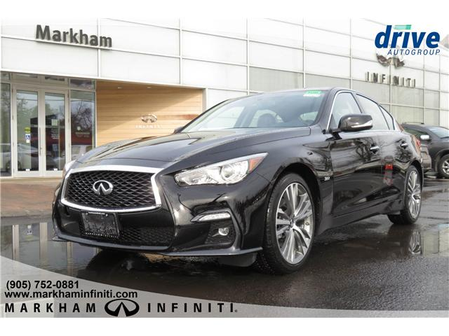 2019 Infiniti Q50 3.0t LUXE (Stk: K381) in Markham - Image 1 of 16