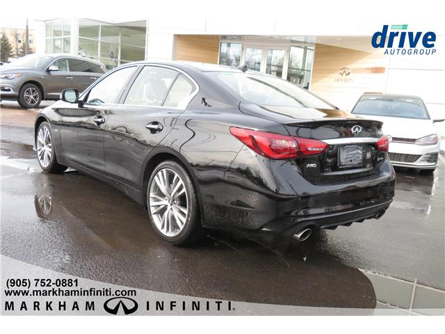 2019 Infiniti Q50 3.0t LUXE (Stk: K381) in Markham - Image 3 of 16