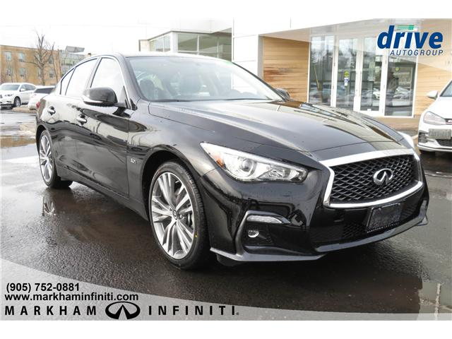 2019 Infiniti Q50 3.0t LUXE (Stk: K381) in Markham - Image 7 of 16