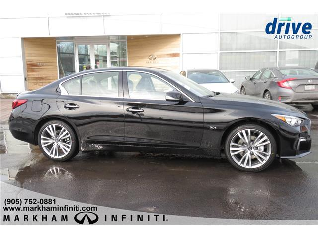 2019 Infiniti Q50 3.0t LUXE (Stk: K381) in Markham - Image 6 of 16