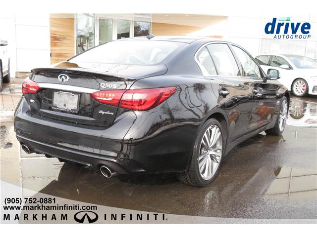 2019 Infiniti Q50 3.0t LUXE (Stk: K381) in Markham - Image 5 of 16