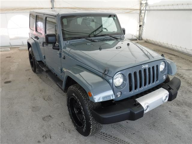 2014 Jeep Wrangler Unlimited Sahara (Stk: ST1654) in Calgary - Image 3 of 21