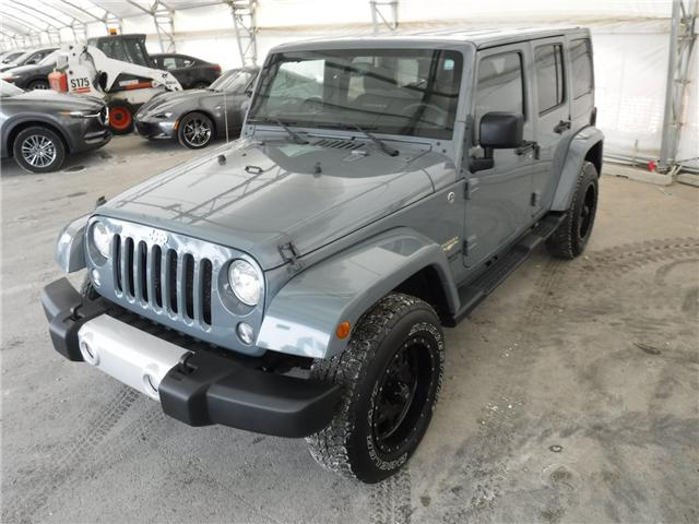 2014 Jeep Wrangler Unlimited Sahara (Stk: ST1654) in Calgary - Image 10 of 21