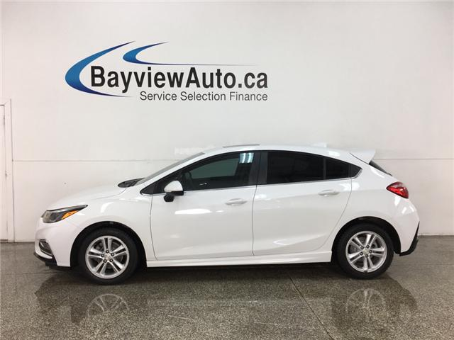 2017 Chevrolet Cruze Hatch LT Auto (Stk: 34597J) in Belleville - Image 1 of 30