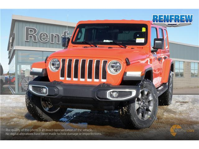 2019 Jeep Wrangler Unlimited Sahara (Stk: K154) in Renfrew - Image 1 of 20